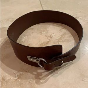 GAP brown leather belt